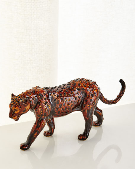 Jay Strongwater Panther Figurine