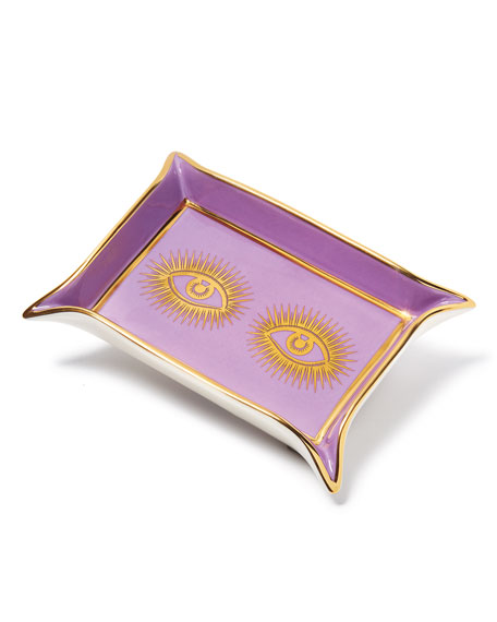 Image 2 of 3: Jonathan Adler Muse Valet Eyes Tray