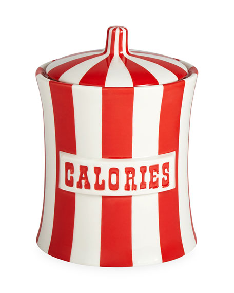 Jonathan Adler Vice Calories Canister