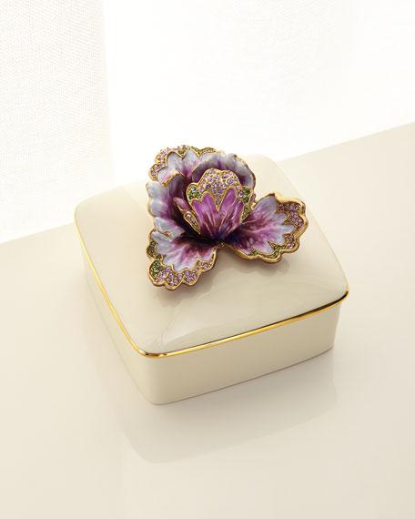 Bailey Tulip Porcelain Box