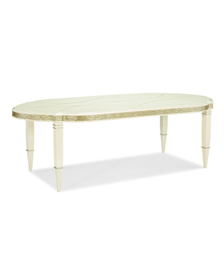 Image 2 of 4: caracole Gabrielle Dining Table
