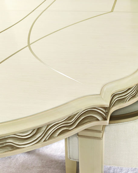 Image 4 of 4: caracole Gabrielle Dining Table