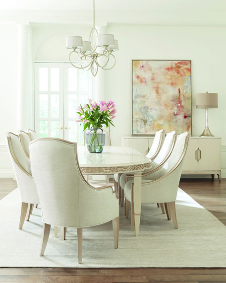 Image 1 of 4: caracole Gabrielle Dining Table