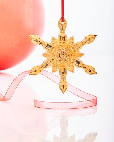 Noel Snowflake Ornament