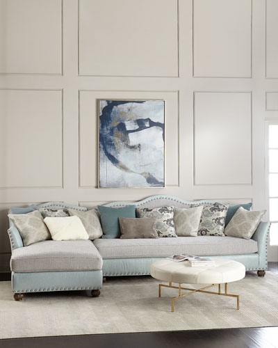 Trulee Left Chaise Sectional