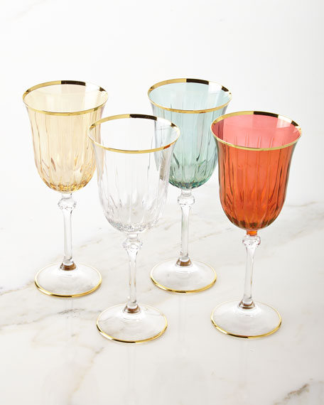 Wine Goblets, Set of 4