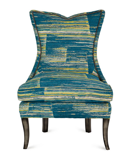 Old Hickory Tannery Hensley High-Back Wing Chair
