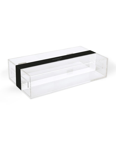 Large Acrylic Curiosities/Documents Box
