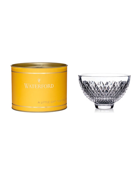 """Waterford Crystal Alana Crystal Bowl in Gift Box, 5"""""""