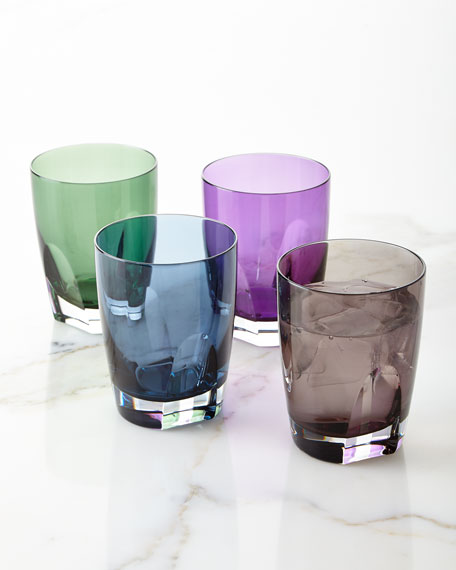 Waterford Crystal Assorted Tumblers, Set of 4