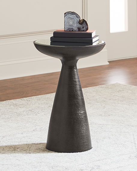 Image 1 of 2: Lola Mod Pedestal Table