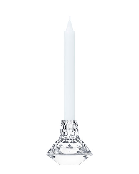 Saint Louis Crystal Folia Small Candlestick Holder