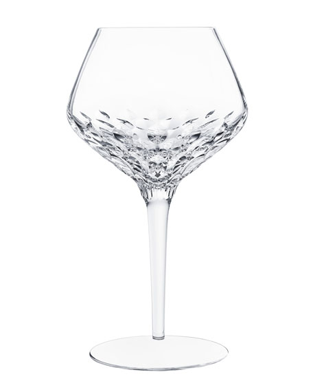 Saint Louis Crystal Folia Wine Glass