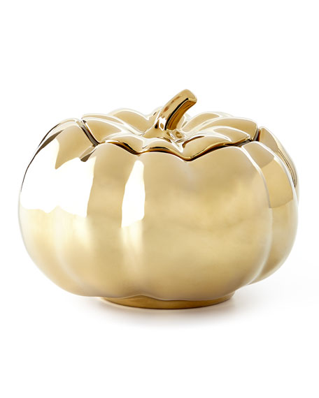 Neiman Marcus Pumpkin Soup Bowl with Lid, Set of 4