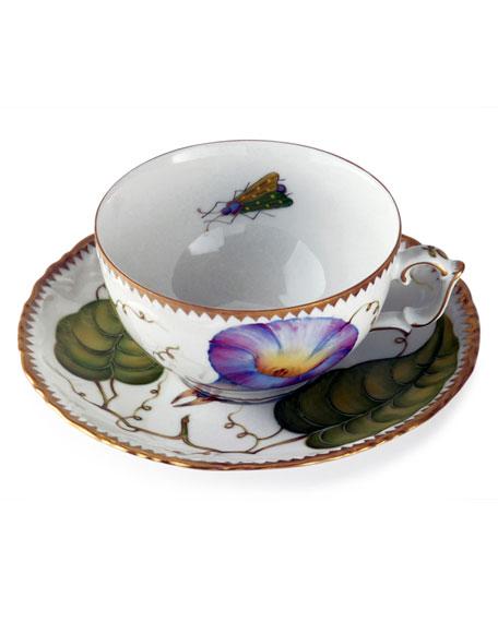 Anna Weatherley Treasure Garden Teacup and Saucer