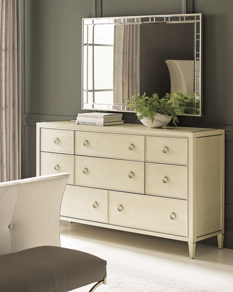Image 1 of 3: caracole Elisse Eight-Drawer Dresser