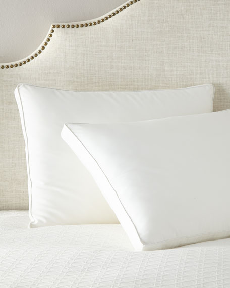 Gusseted and Corded King Down Sleeping Pillow