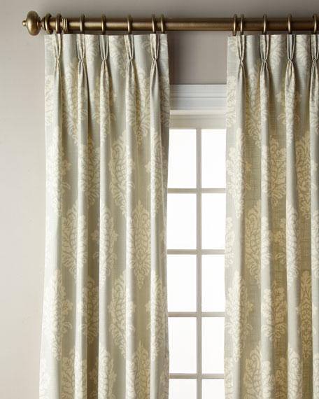 "Misti Thomas Modern Luxuries Angeline Curtain, 108""L"