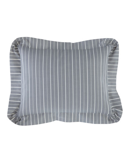 Sherry Kline Home Metropolitan Striped Boudoir Pillow