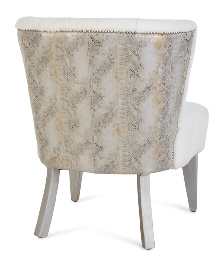 Paulette Shearling Accent Chair