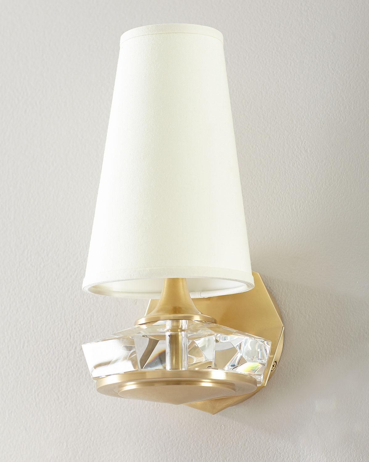Thomas O'Brien Santo Small Faceted Sconce