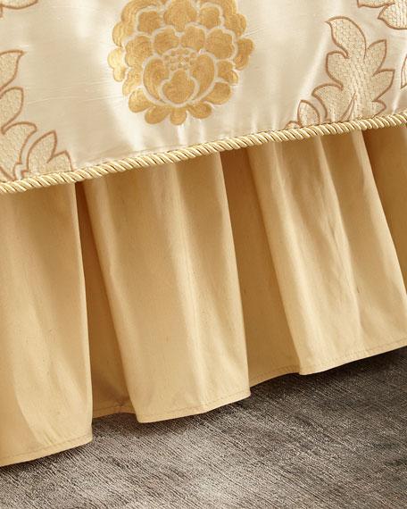 Coronado Silk Ruffle Queen Dust Skirt