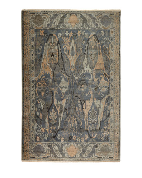 Exquisite Rugs Imani HandKnotted Rug, 6' x 9'