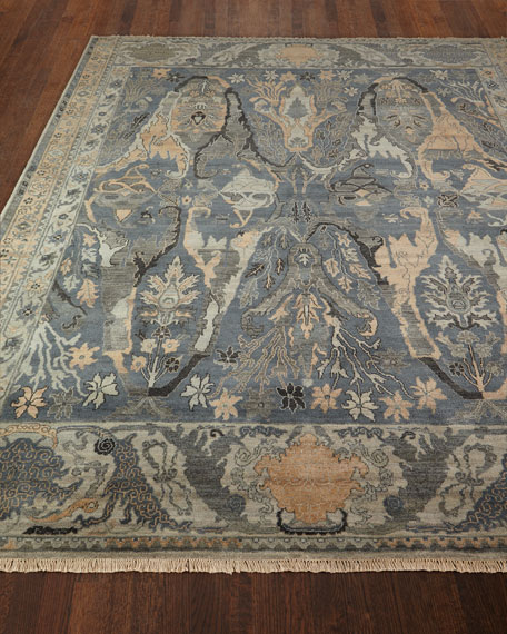 Exquisite Rugs Imani  HandKnotted Rug, 10' x 14'