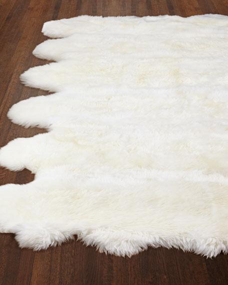 Rocco Sheepskin Rug, 5' x 8'