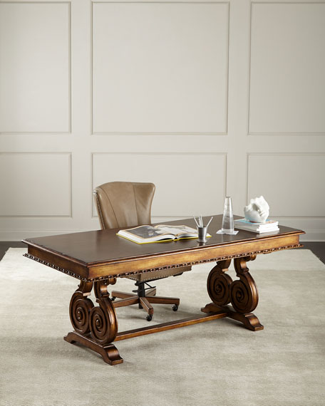 Peninsula Home Collection Kimberly Ornate Writing Desk