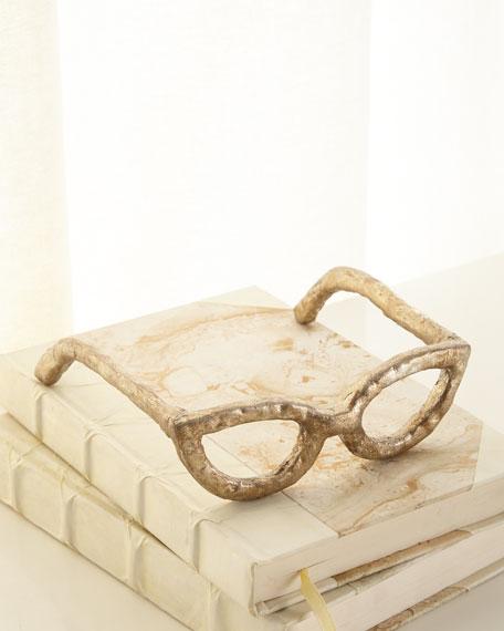 Cat-Eye Glasses Sculpture
