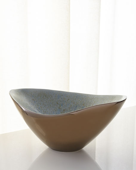 Global Views Marta's Bowl, Bronze Reactive