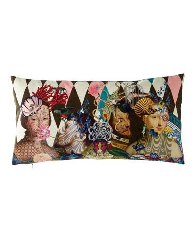 Le Curieux Argile Pillow  24 x 12