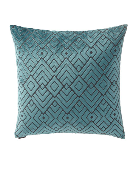 """Hipster Square Pillow, 24"""""""