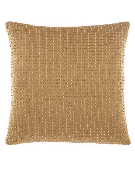 Sweet Dreams Anna Maria Beaded Silk Pillow