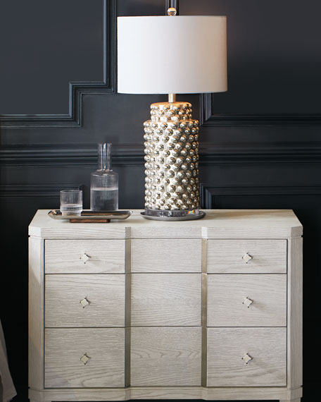 Donna Three-Drawer Night Stand