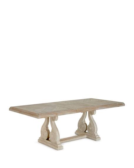 Magdalen Pedestal Dining Table