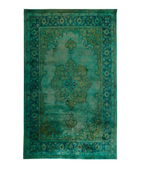 Lotus Hand-Tufted Wool Rug, 8' x 11'