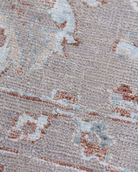 Image 3 of 4: Exquisite Rugs Saray Hand-Knotted Rug, 8' x 10'