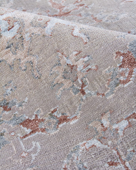 Image 4 of 4: Exquisite Rugs Saray Hand-Knotted Rug, 8' x 10'