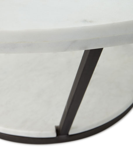 Arteriors Vice Marble Coffee Table