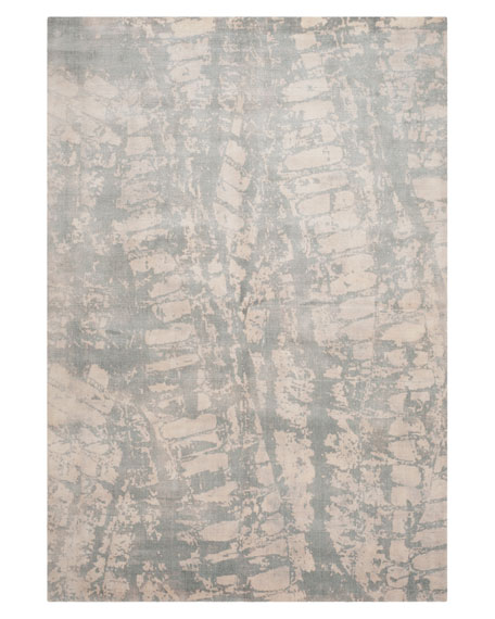 Image 2 of 2: Safavieh Drizzling Mist Hand-Loomed Rug, 8' x 10'