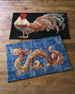 Gallen Rooster Accent Rug, 3' x 5'