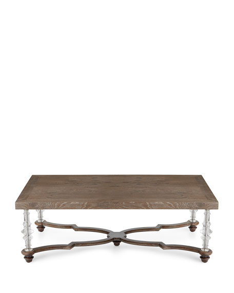 Calli Acrylic Leg Coffee Table