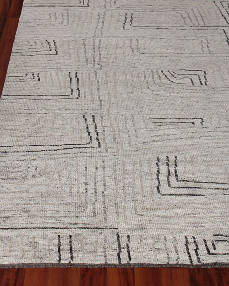 Exquisite Rugs Balon Hand-Knotted Rug, 10' x 14'