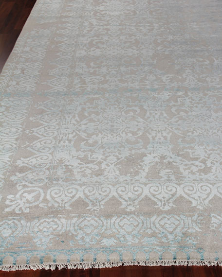 Exquisite Rugs Gregore Hand Loomed Rug, 10' x 14'