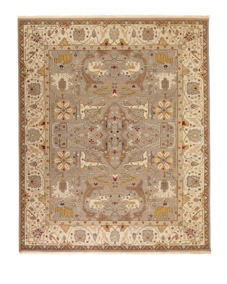 Placidio Soumak Weave Rug, 4' x 6'