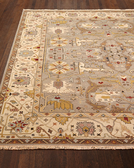 Placidio Soumak Weave Rug, 8' x 10' and