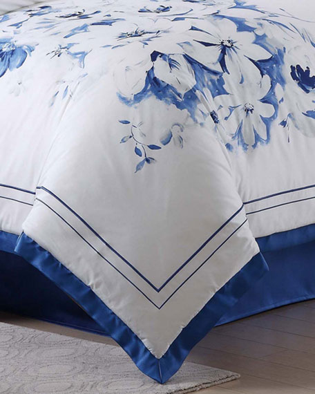 Alfresco Floral Queen Duvet Set