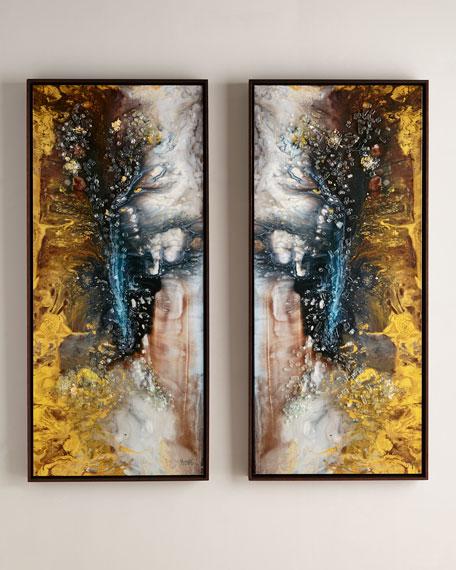 John-Richard Collection Mary Hongs Heavenly Pair I &